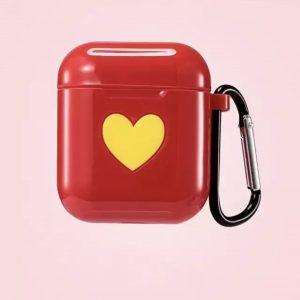 کاور-ایرپاد-طرح-قلب-زرد-قرمز-براق