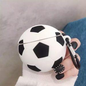 کاور-ایرپاد-طرح-توپ-فوتبال-سیلیکون-سیاه-سفید