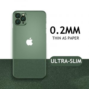 قاب-موبایل-آیفون-TPU-نازک-سبز