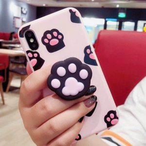 قاب-موبایل-آیفون-پنجه-گربه-ریز