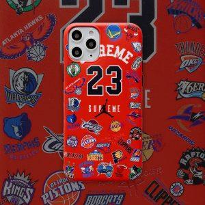 قاب-موبایل-بسکتبال-سوپریم-قرمز