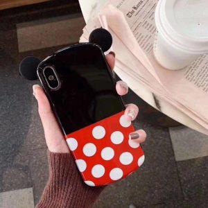 قاب-موبایل-آیفون-میکی-گوش-دار