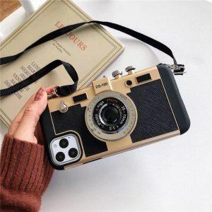 قاب-موبایل-آیفون-دوربین-کمرا-طلایی-