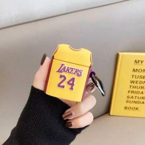 کاور-ایرپاد-بسکتبال-سیلیکون-زرد-لیکرز-Lakers