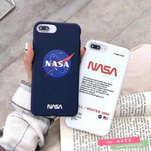 قاب-موبایل-اپل-آیفون-ناسا-آبی-سفید