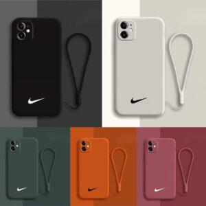 قاب-موبایل-آیفون-سیلیکونی-رنگ-بند-ست