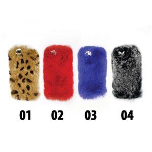 قاب-موبایل-آیفون-طرح-پشمالو-چهار-رنگ
