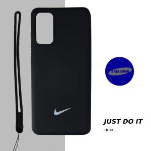قاب-موبایل-سامسونگ-طرح-نایک-سیلیکونی-همراه-بند-ست