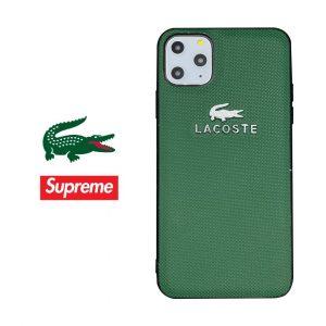 قاب-موبایل-آیفون-لاکست-چرمی-سبز