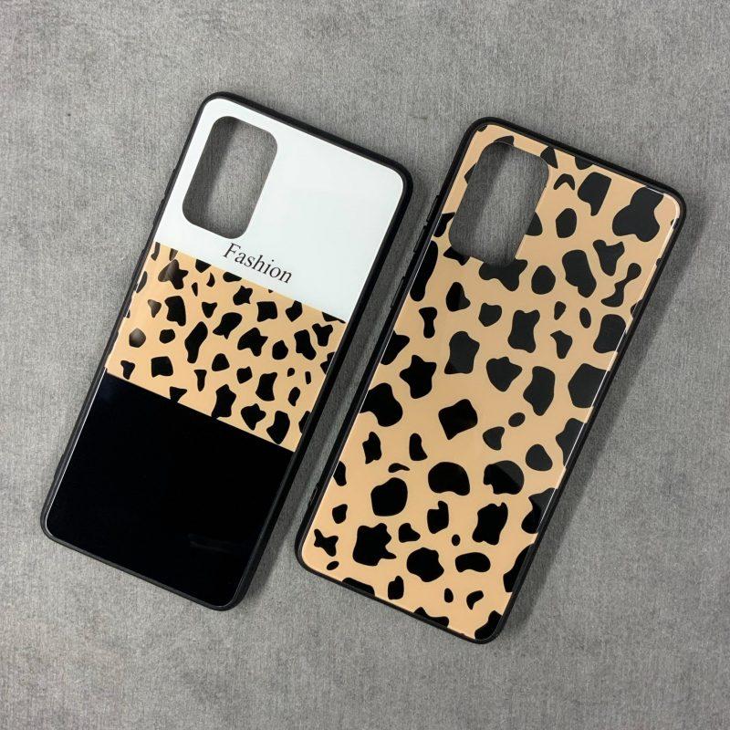 قاب-موبایل-سامسونگ-پلنگی-شیشهای-گلس