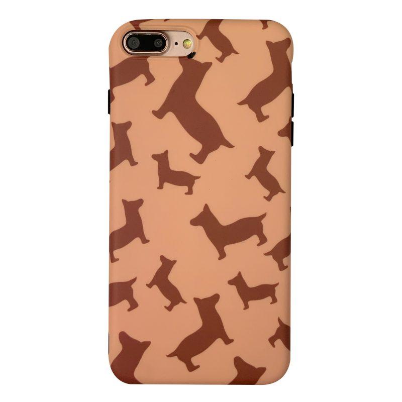 قاب-موبایل-آیفون-پلاستیک-سگ